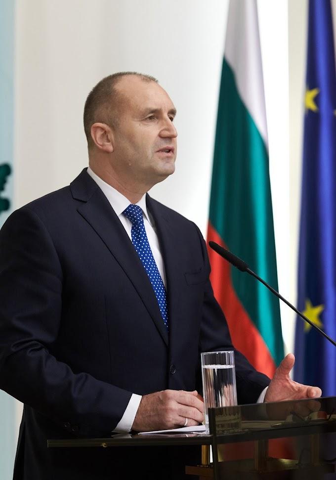 Президентът Румен Радев с позиция за действията на Прокуратурата