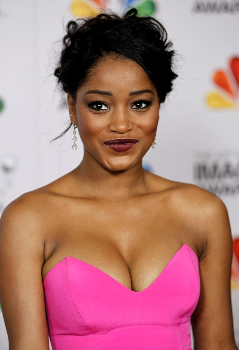 Keke Palmer @ 43rd NAACP Image Awards in L.A. | BootymotionTV