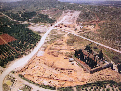 Villa romana de Publio Cornelio Juniano en la poblacion de l'Enova Valencia