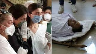 rishi kapoor dead body