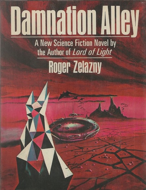 The original hard cover of Damnation Alley