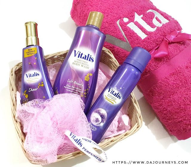 Review Vitalis Perfumed Moisturizing Body Wash Soft Beauty