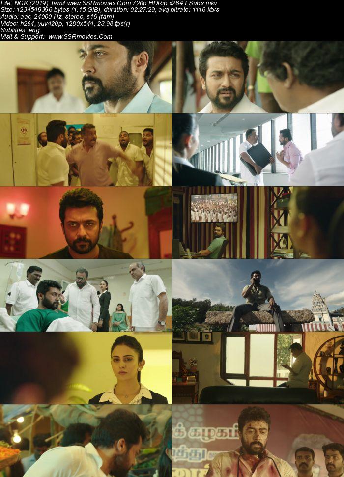 NGK (2019) Tamil 480p HDRip x264 450MB ESubs Movie Download