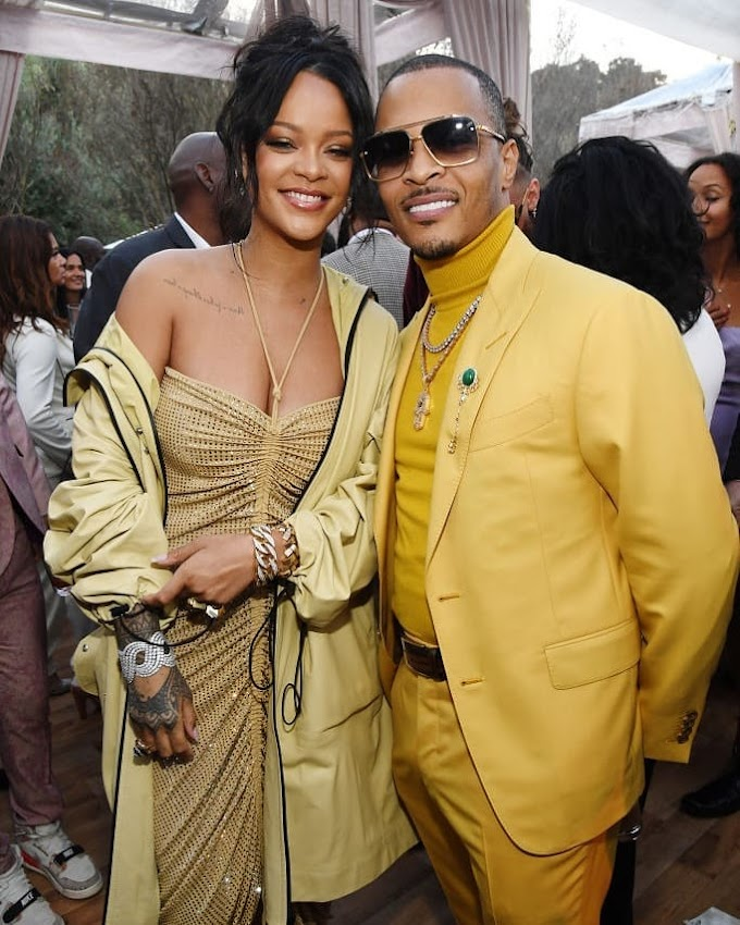 Rihanna, Jhene Aiko, Big Sean And More, At The 2020 Pre-Grammy Roc Nation Brunch
