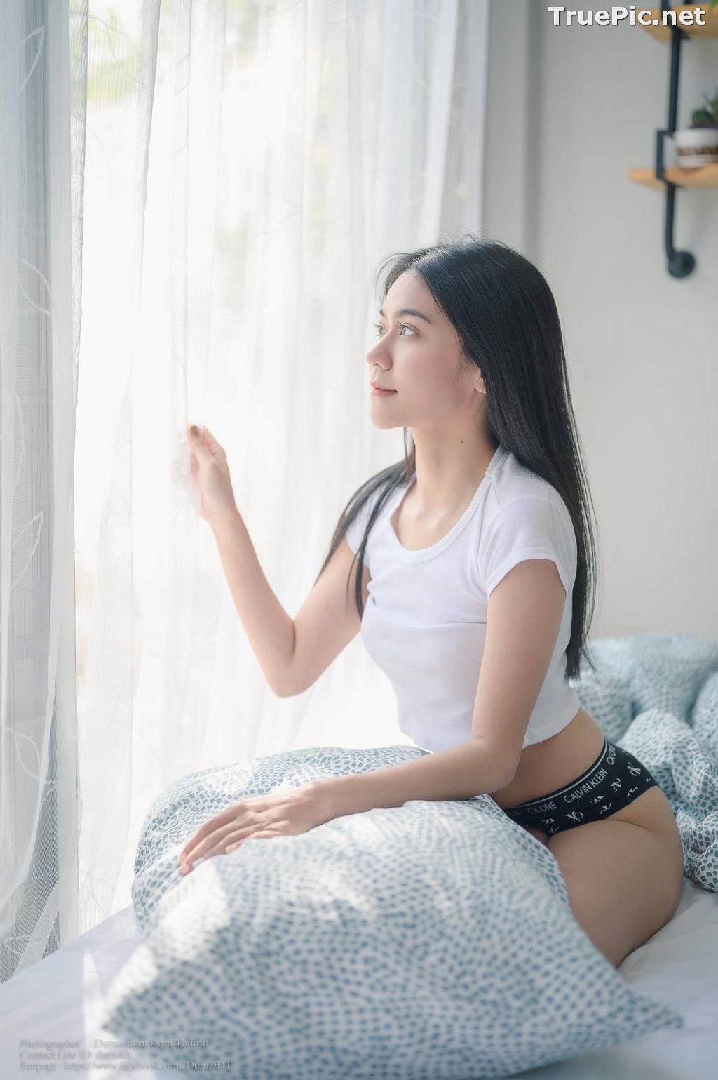 Image Thailand Model - Pattira Saisin - Reading @ Home - TruePic.net - Picture-8