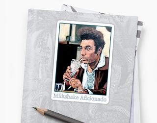 Milkshake Aficionado by Boulder portrait artist Tom Roderick