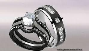 Tungsten Wedding Ring Sets
