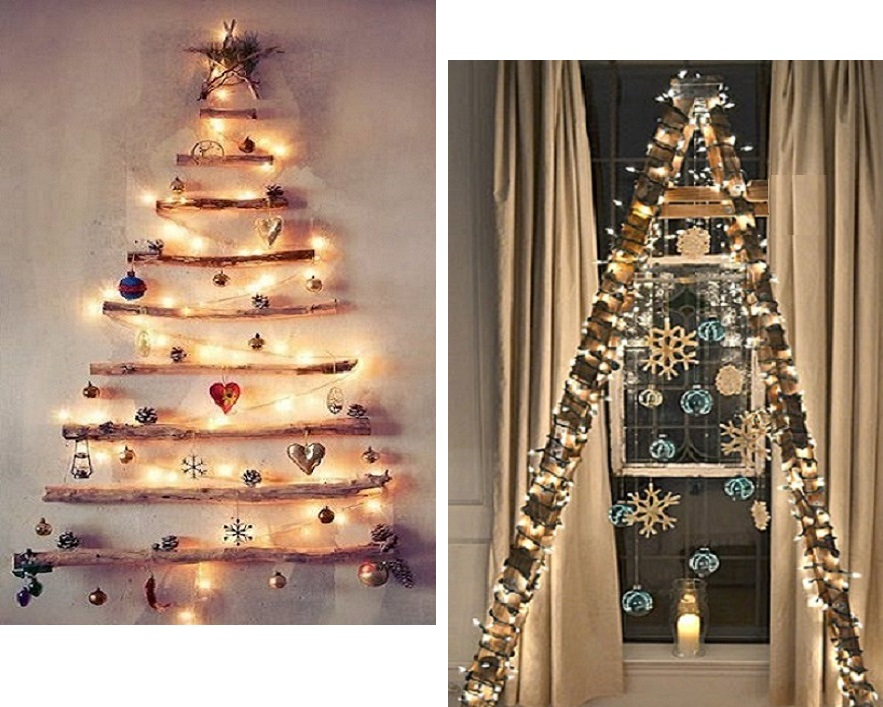 Unconventional Christmas Trees.Fifty Shades Fashion An Unconventional Christmas Tree