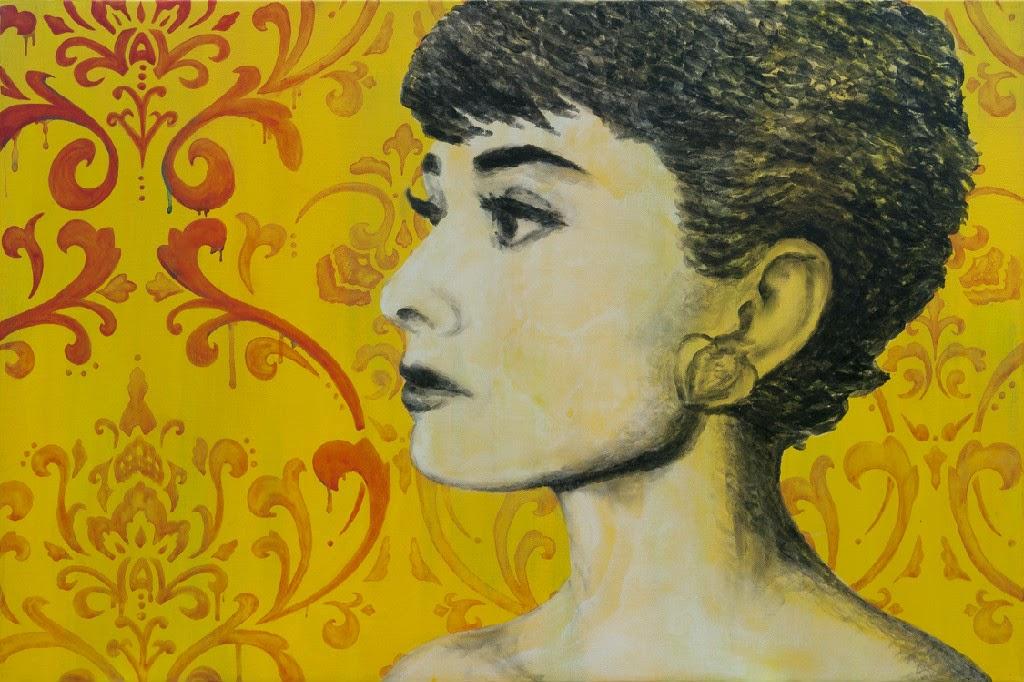 Natalie Irish, artista, pintora, mágico, pintar, besos, labios