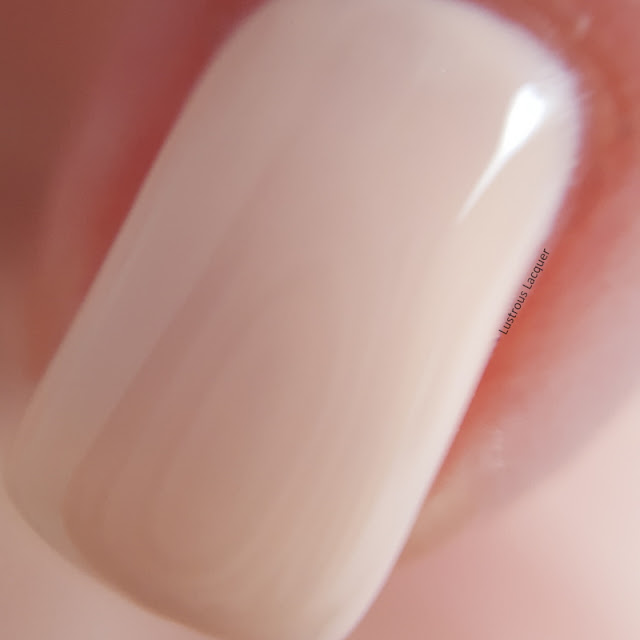 muslin colored creme nail polish from the Pastel City Collection
