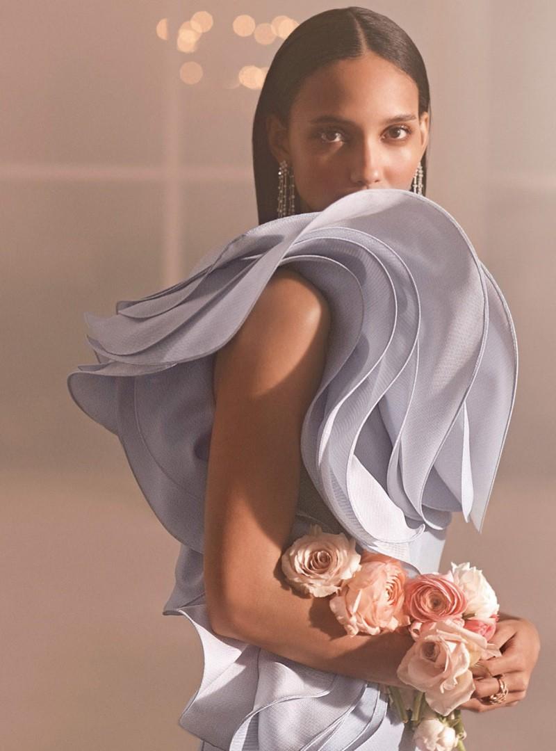 Editorial de moda com os melhores vestidos de alta costura