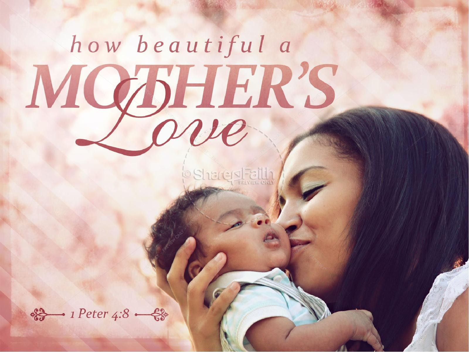 How beautiful is mothers Love