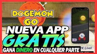 DOGEMON GO el pokemon go Version cripto ya esta aqui