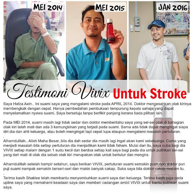 pesakit stroke pulih dengan vivix