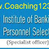 IBPS SO (Specialist officer) Previous Year Question Paper - Solved question answers ""