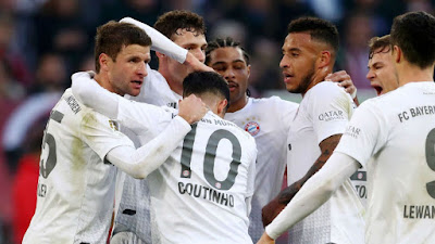 Video Cuplikan Gol: Fortuna Dusseldorf 0-4 Bayern Munich (Bundesliga)