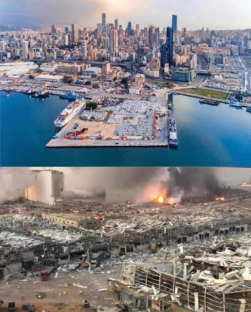 بيروت: لماذا كان الانفجار على شكل فطر؟ تكذيب فرضية الانفجار النووي