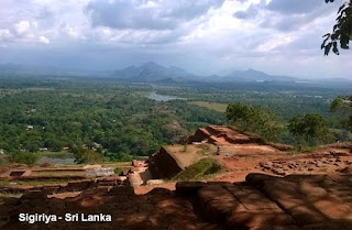 Sigiriya Sri Lanka Lion rock