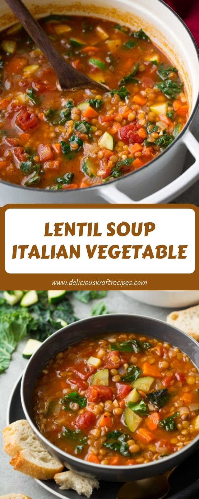 LENTIL SOUP ITALIAN VEGETABLE