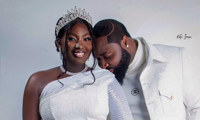 #Tarex2021- First Photos from Harrysong & Alex's White Wedding