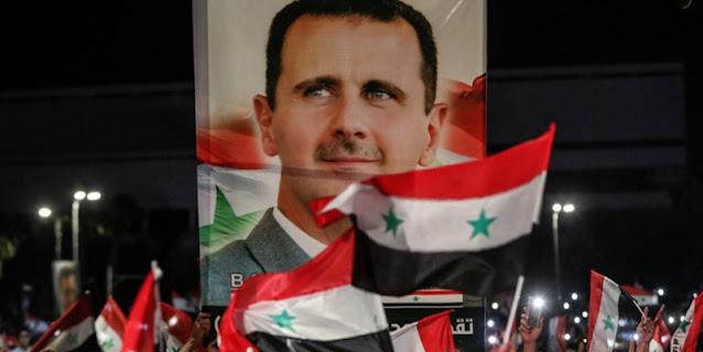 Kantongi 95,1 Persen Suara, Bashar Al-Assad Menang Pemilu Suriah