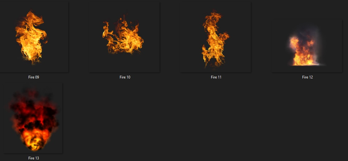 Fire Png And Water Drop Png Pack Free Download