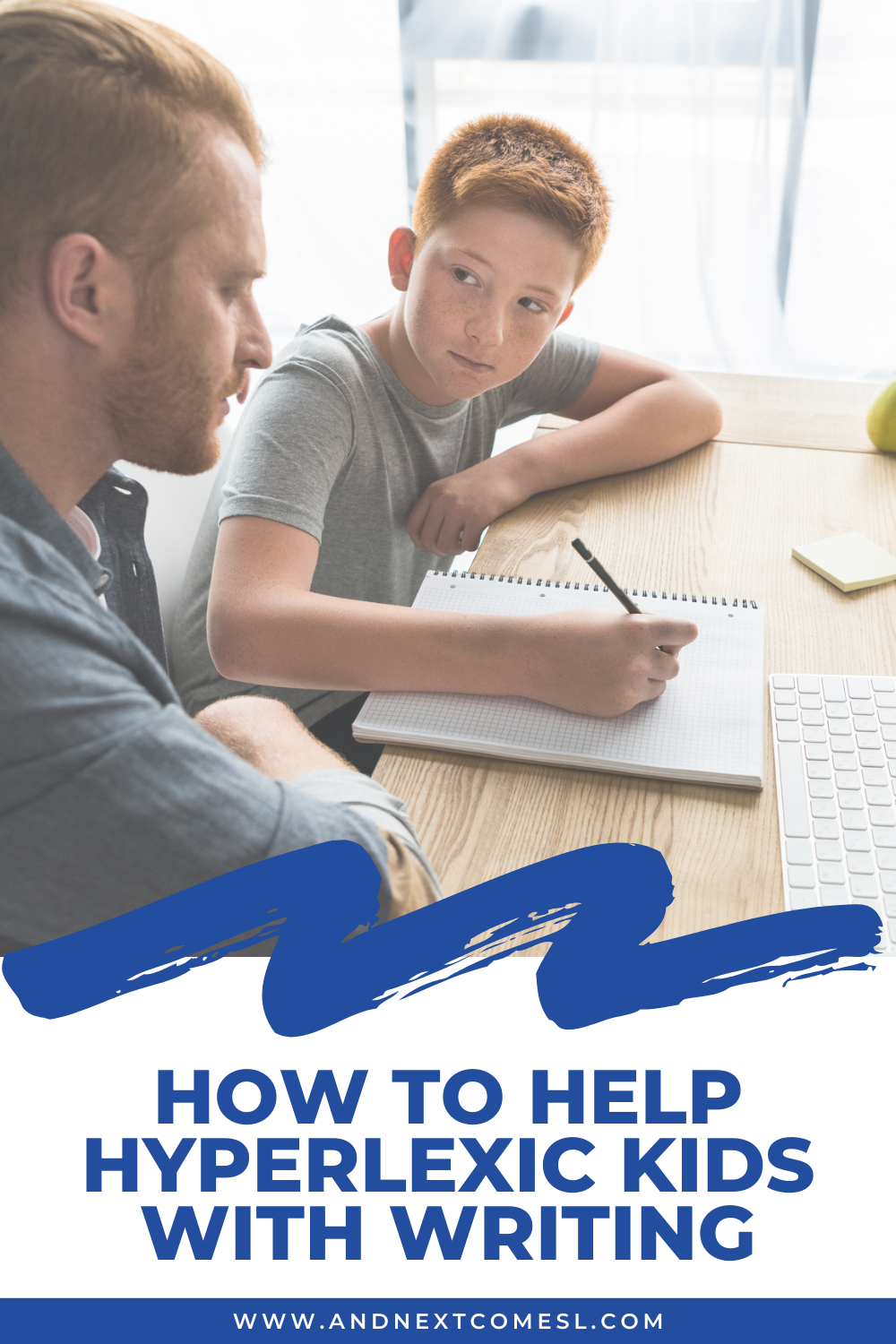 Tips and strategies for how to help hyperlexic kids with writing assignments