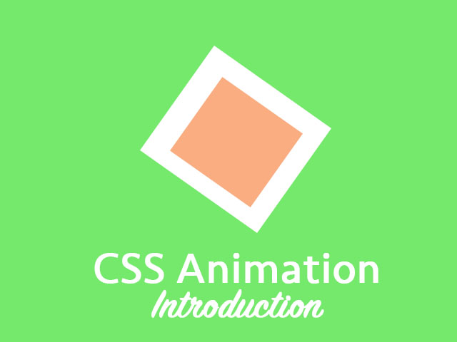 CSS Animation Intro