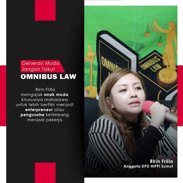 Generasi Muda Jangan Takut Omnibus Law