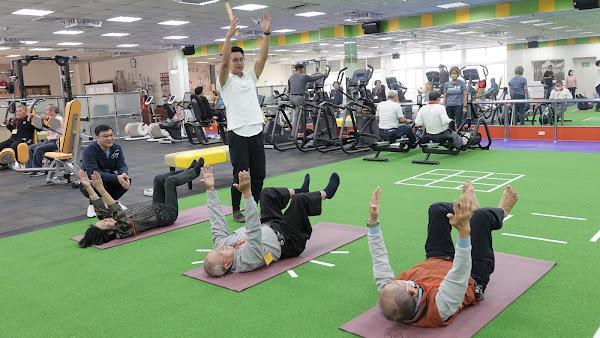 鹿港康動中心嘉惠銀髮族健身 長輩運動增強肌力