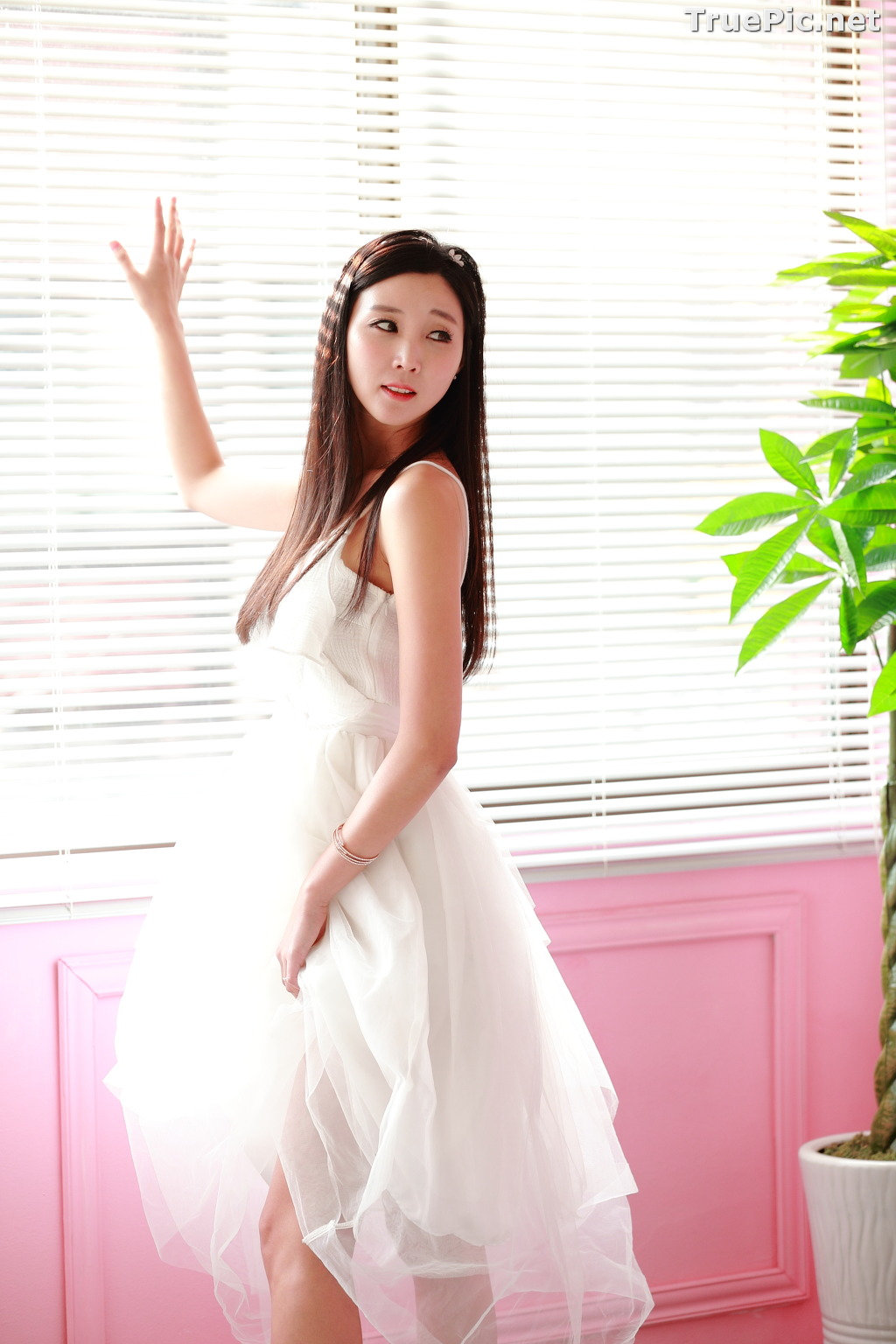 Image Korean Model - Lee Yoo Eun - Studio Photo Collection - TruePic.net - Picture-1