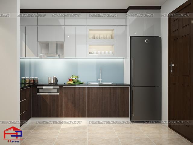 Mẫu thiết kế tủ bếp nhựa laminate-8