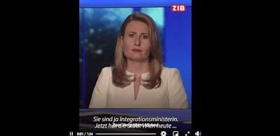 وزيرة الاندماج في النمسا,لجوء القاصرين في النمسا,