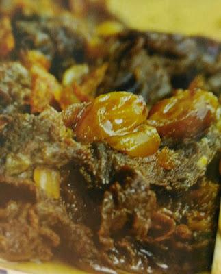 Resepi Daging Masak Kismis