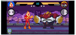 Ben 10 Alien Rivals: 1 vs 1 Cartoon Fighter Game