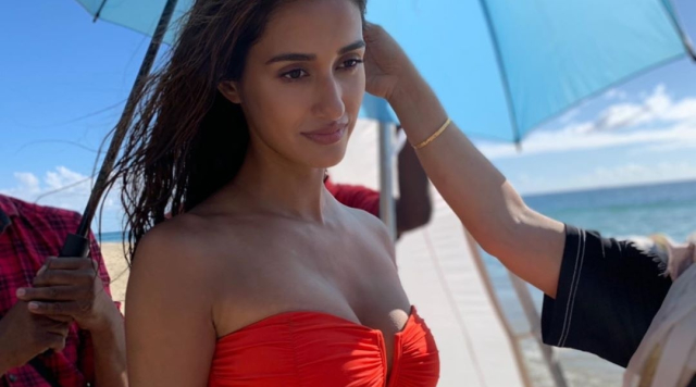 Disha Patani Shares One More Scarlet Bikini Picture From Her Malang Shoot