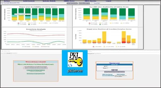 PKI Server Setup in IREPS or IMMS