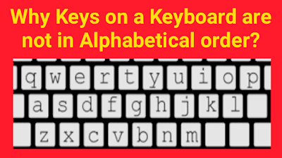 Why Keys on a Keyboard are not in Alphabetical Order?