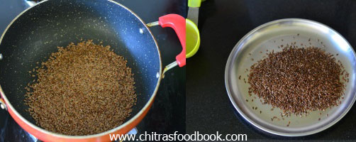 flax seeds idli podi recipe