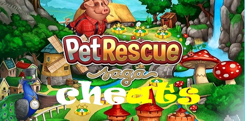 Pet Rescue Cheats - For Facebook, iPhone, iPad and Android