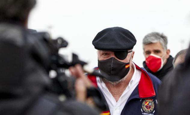 El juez embargó 53 inmuebles a Villarejo dos días antes de salir de prisión