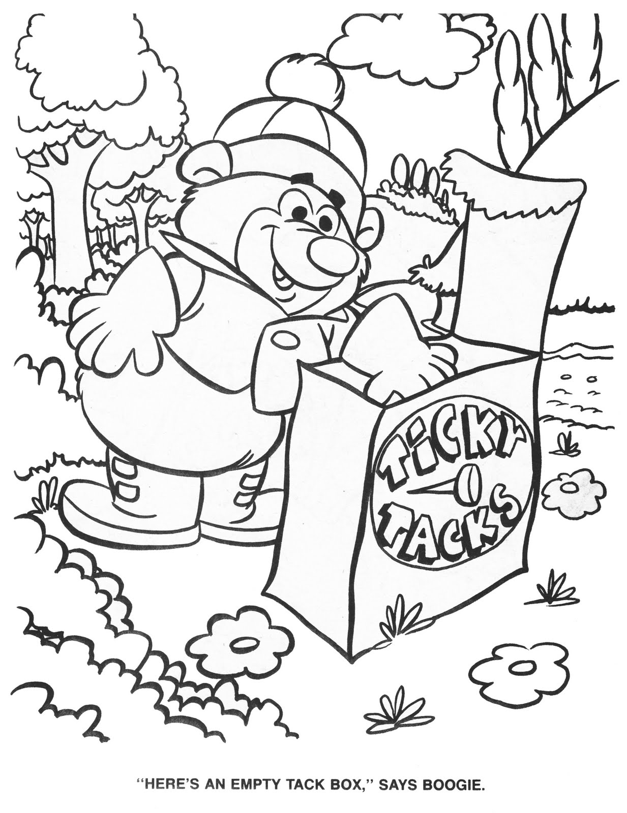 hanna barbera coloring pages - photo#31
