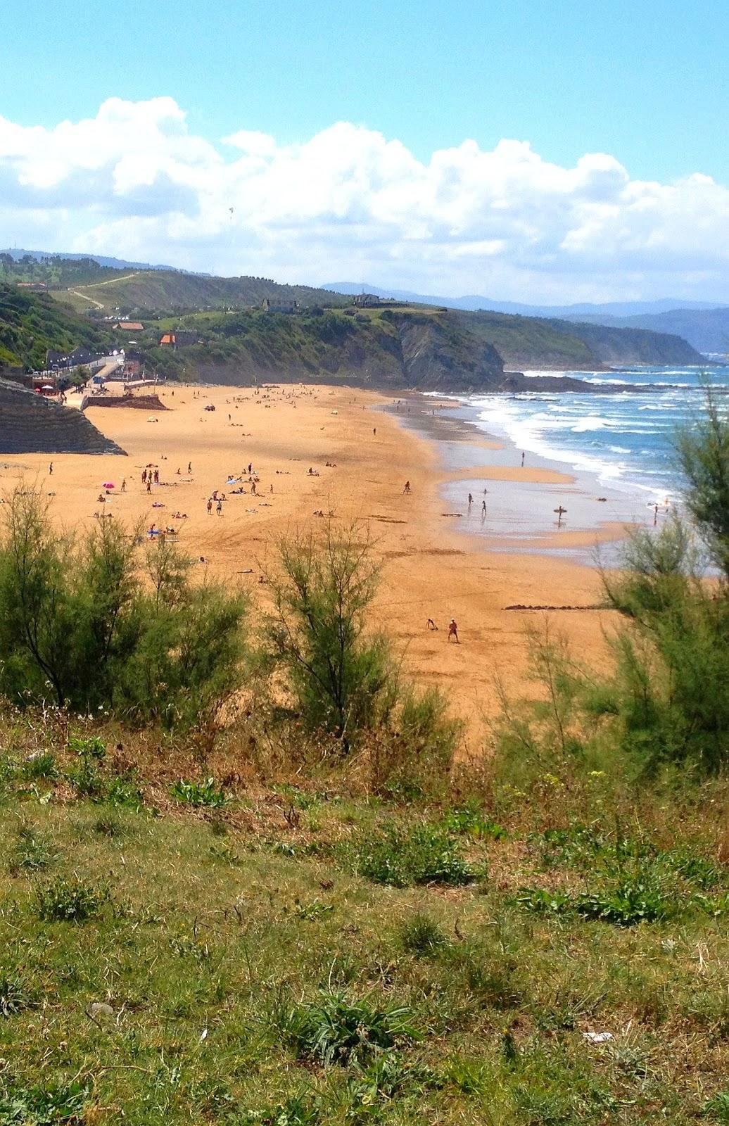 vista de la playa de sopelana 02