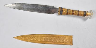 Desvendado o mistério do punhal de Tutancâmon