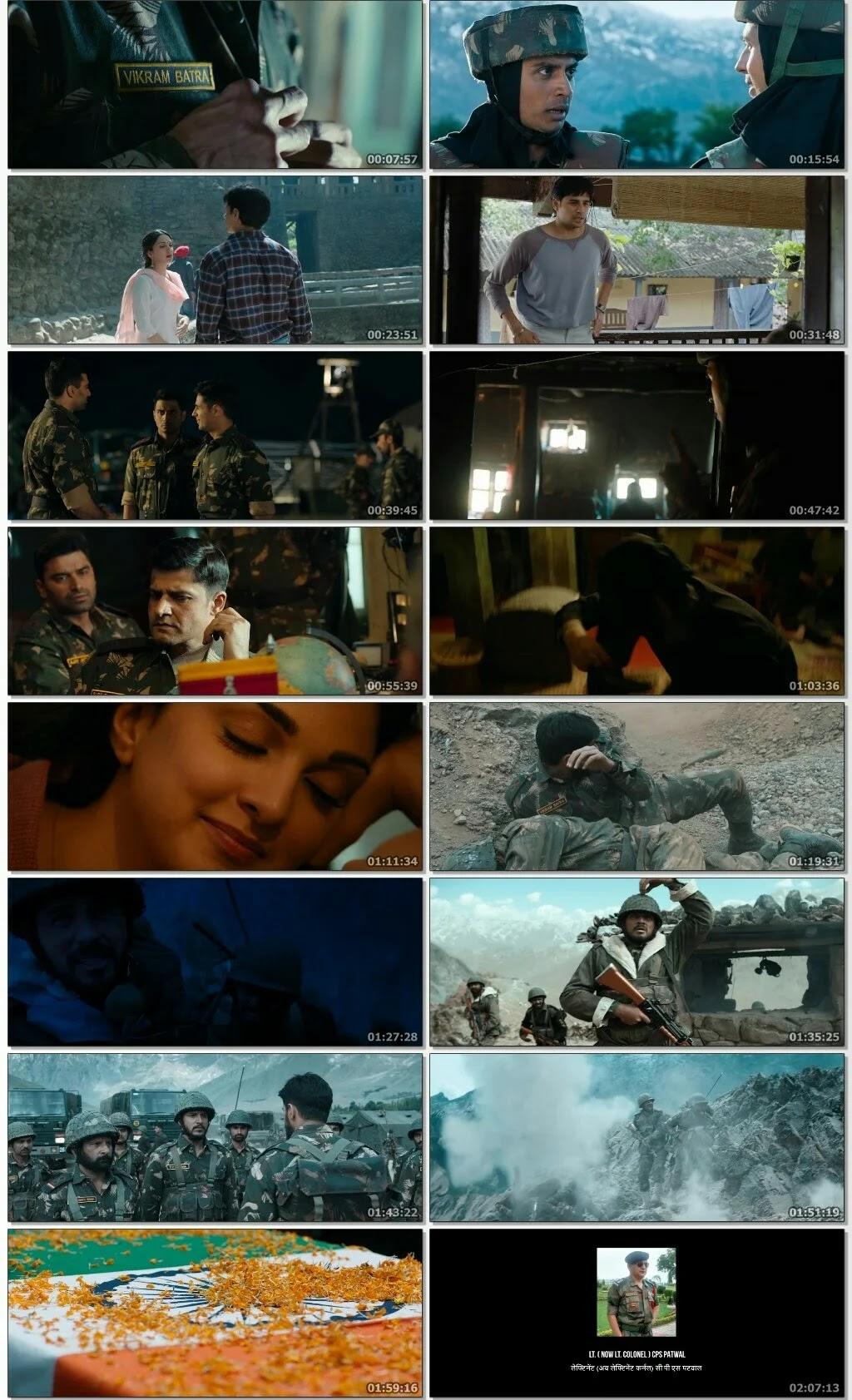 Shershaah Full Movie Download Filmyzilla