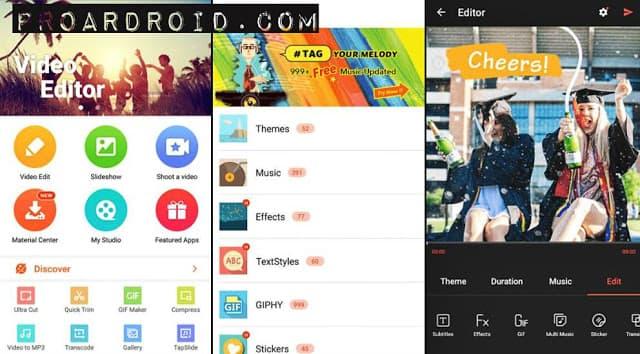 تطبيق Filmr: Easy Video Editor for Photos لتعديل الفيديو والصور باحترافية النسخة المدفوعة logo