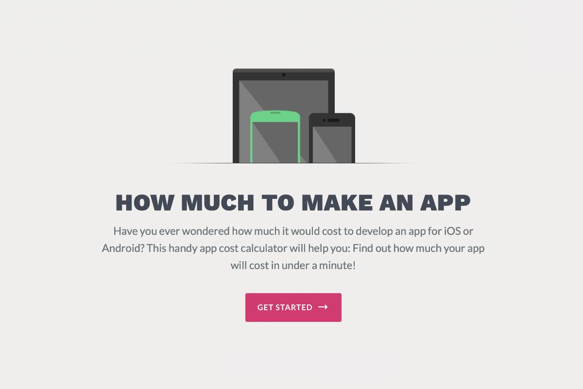 Quanto costa fare un'app