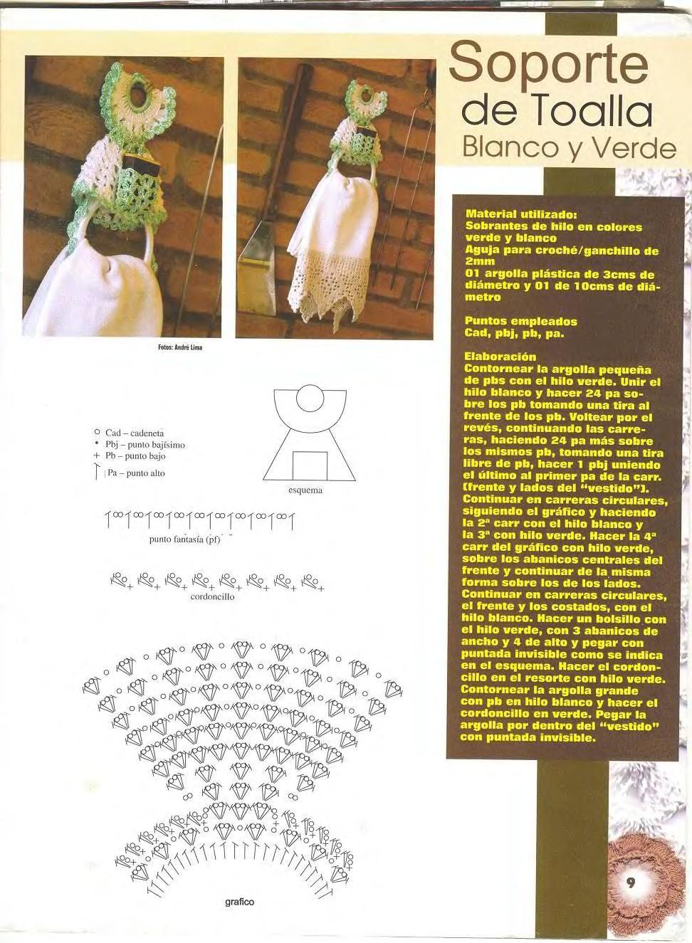Increíble Soportes En Los Patrones De Ganchillo Adorno - Ideas de ...