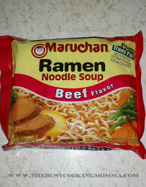 Beef Ramen Noodle Stir-fry