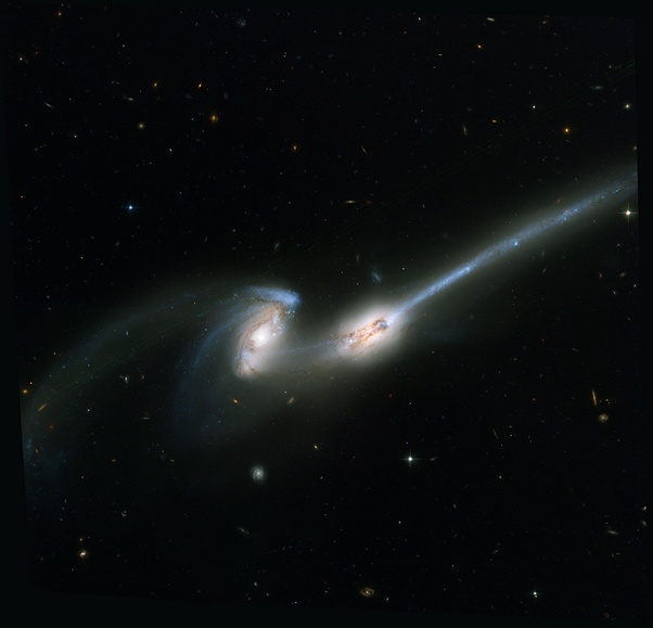 What if two Galaxies collide?